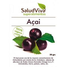 Acai powder SaludViva