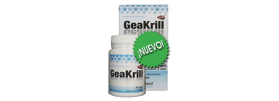 Productos de Laboratorios Geamed: GeaKrill